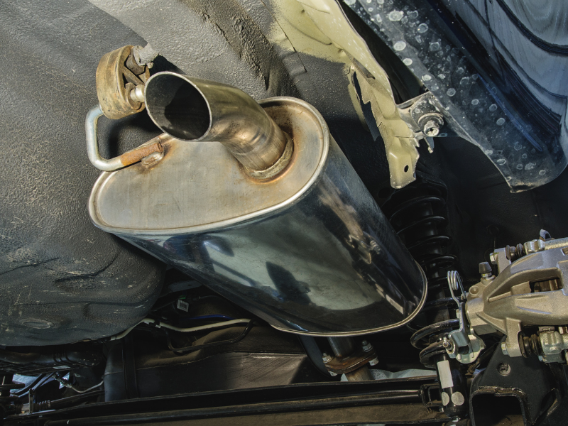 5 Signs You've Got a Hole in Your Muffler
